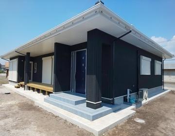 大崎町仮宿  洋平君の家が完成しました。