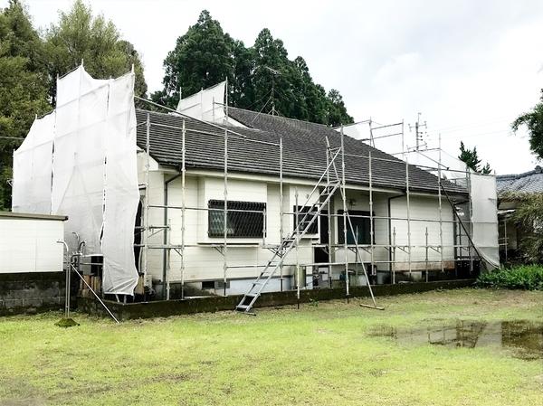 外壁&屋根のリフォーム 大崎町飯隈T様邸 施工の風景 (有)アキ建設サムネイル