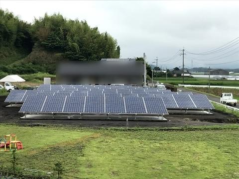 太陽光発電 大崎町【菱田発電所】(有)アキ建設サムネイル