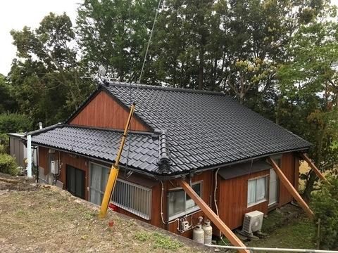 外壁&屋根のリフレッシュ (屋根瓦塗替え )  大崎町N様邸   (有)アキ建設サムネイル