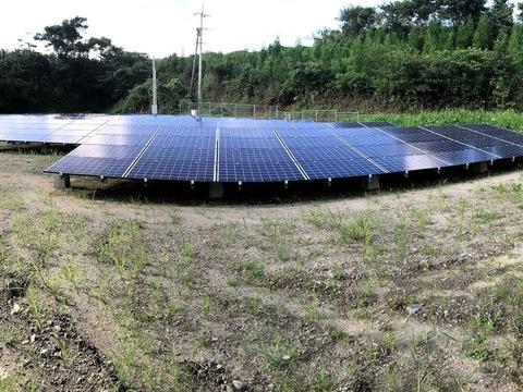 太陽光発電 財部地区 1区画 間もなく売電開始予定 (有)アキ建設サムネイル