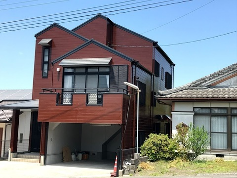 大崎町のM様邸 外部リフレッシュ  (有)アキ建設サムネイル