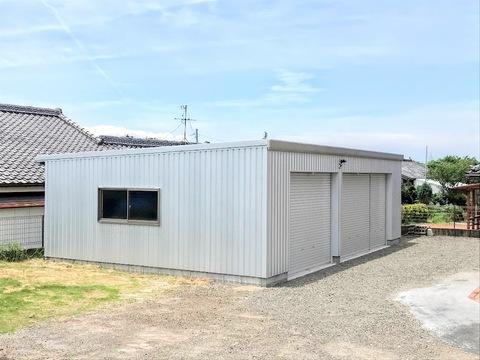 益丸のガレージ増設    (有)アキ建設サムネイル
