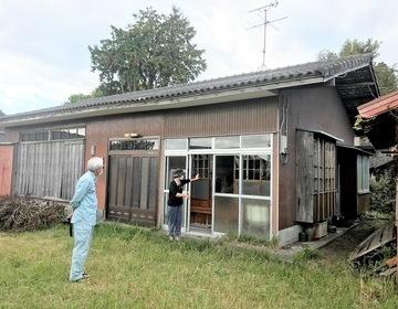 野神の家解体の状況