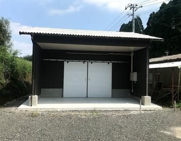 種鶏農場 貯卵庫新設工事進捗状況  (有)アキ建設