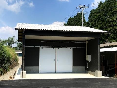 大崎町にある種鶏農場 貯卵庫新設工事  (有)アキ建設サムネイル